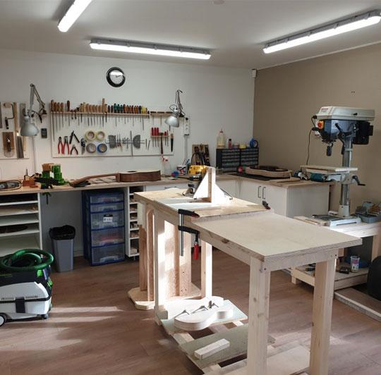Atelier Luthier en guitares